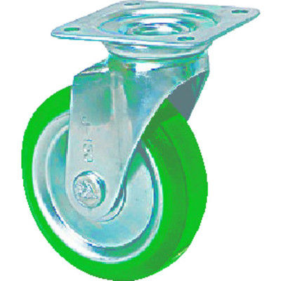 シシクSISIKUアドクライス スタンダードプレスキャスター ウレタン車輪 自在 150径 UWJ-150 1個 504-9326 (直送品)