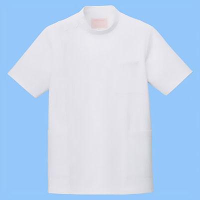 フォーク 男子医務衣(ケーシージャケット) 1010CR-1 ホワイト BL