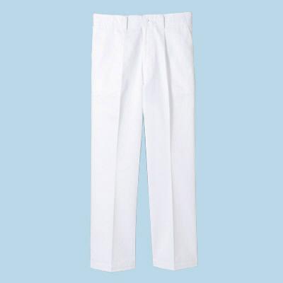 ボンマックス メンズコックパンツ ホワイト 5L (直送品)