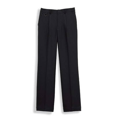 ボンマックス 裾上げらくらくパンツ ブラック S (直送品)