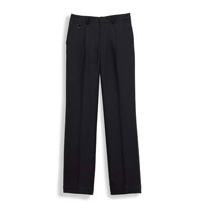 ボンマックス 裾上げらくらくパンツ ブラック L (直送品)