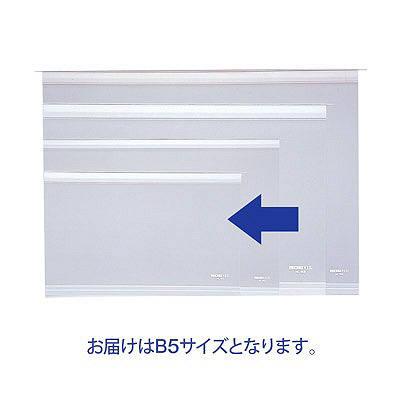 リヒトラブ カードインデックス(カーデックス) 補充用ポケット B5サイズ用 HC151 1袋(10ポケット入)