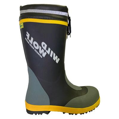 オカモト ワイルドウルフ安全長靴 爪先鋼製芯入りカバーブーツ XL RMT-70324