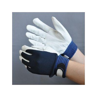ミドリ安全 豚革手袋 甲メリマジック AG-508 Mサイズ 1セット(10双入) R4041429620 (直送品)