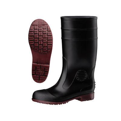 ミドリ安全 耐滑抗菌安全長靴ハイグリップ HG1000スーパー ブラック 27.0cm (直送品)