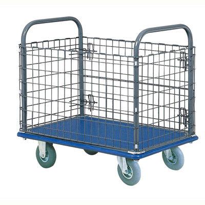 IKキャリー 網台車 150kg荷重/空気入タイヤ 307AR H/L 石川製作所 (直送品)