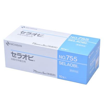 ニチバン セラオビ No.755 7.5cm×5m 1箱(10巻入)