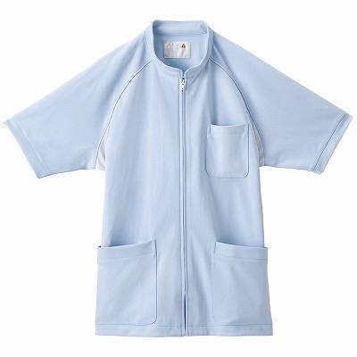 ルコックスポルティフ メンズセンターファスナージャケット ブルー EL QNM1501(UQNM1501) AQA EL 1枚 (直送品)