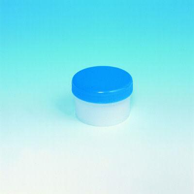 シンリョウ SK軟膏容器B型120mL/青 207862 1箱(100個入)