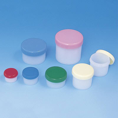 シンリョウ SK軟膏容器B型60mL/緑 207854 1箱(100個入)