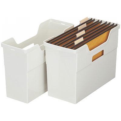 アイリスオーヤマ ハンギングボックス 245764 白 HB-340R 1箱(6個入)