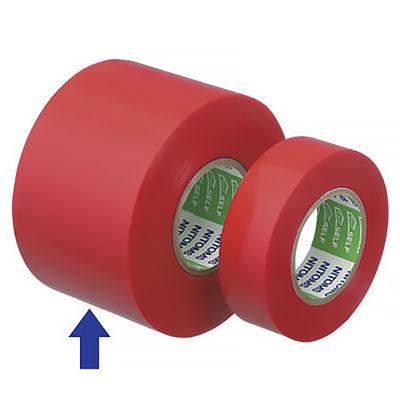 ニトムズ ビニルテープ広幅S 赤 50mm×20m巻 J3441