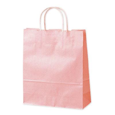 丸紐 手提げ紙袋 ピンク 小 50枚