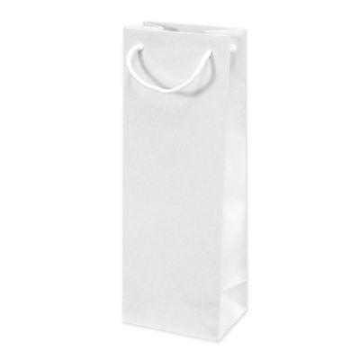 丸紐 手提げ紙袋 ホワイト 20枚