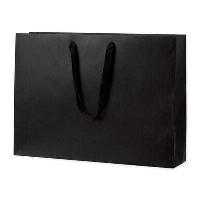 丸紐 手提げ紙袋 ブラック 10枚