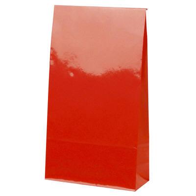 角底紙袋 赤 50枚
