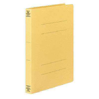 コクヨ フラットファイルW厚とじ A4タテ 10冊 イエロー フ-W10NY