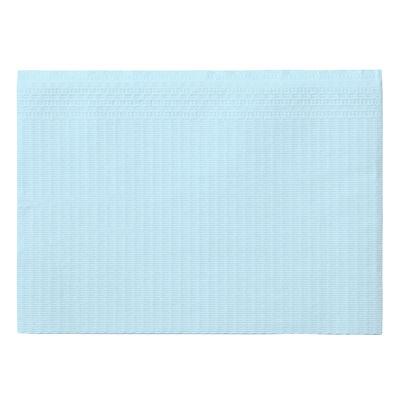 紙エプロン ブルー 1袋(100枚入)