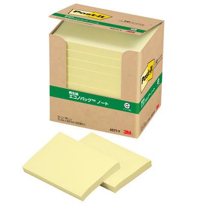 ポスト・イット(R) エコノパック(TM) ノート 再生紙 6571-Y
