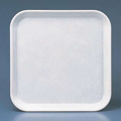 角盆 H-3350 アイボリー 1箱(10枚入) 関東プラスチック工業 (取寄品)