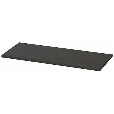 Ceha A4スチール書庫 追加棚板 引違い扉タイプ専用 ブラック 1台 (直送品)