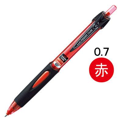三菱鉛筆(uni) 加圧ボールペン パワータンク スタンダード 赤インク SN200PT07.15 3本