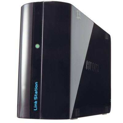 バッファロー 〈リンクステーション ミニ〉 ネットワーク対応SSD 240GB サファイアブラック LS-WSXS240L/R1 (直送品)