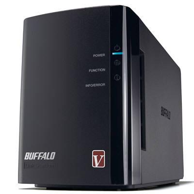 バッファロー リンクステーション RAID機能搭載 高速ネットワーク対応HDD 4TB LS-WV4.0TL/R1J (直送品)