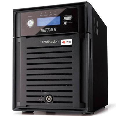 バッファロー 4ドライブNAS  8TB