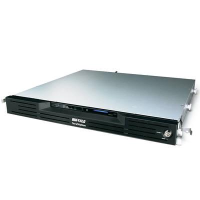 バッファロー 管理者・フェイルオーバー・RAID6機能搭載 4ドライブNAS ラックマウントモデル 4TB TS-RVH4.0TL/R6 (直送品)