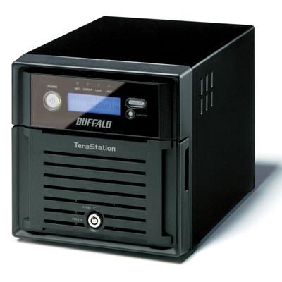 バッファロー テラステーション プロ 管理者・フェイルオーバー・RAID1機能搭載 2ドライブNAS 2TB TS-WVH2.0TL/R1 (直送品)