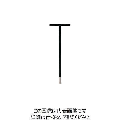 エイト T型六角棒スパナ テーパーヘッド 鉄ハンドル 首下500mm 単品 対辺6mm STT5006 1本 360-5281 (直送品)