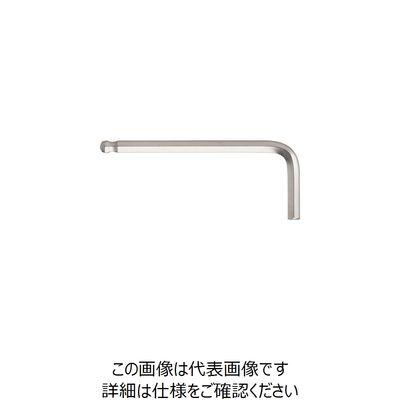 エイト 六角棒スパナ テーパーヘッド 標準寸法 単品 対辺2.5mm T2.5 1本 360-5361 (直送品)