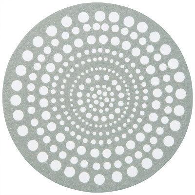 ペーパーコースター サークルホワイトドット 1セット(300枚:100枚入×3パック) カミイソ産商