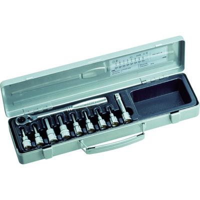 TONE(トネ) ヘキサゴンソケットレンチセット H3082 1セット 122-1078 (直送品)