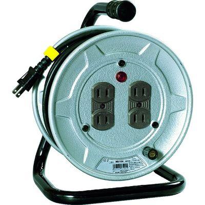 日動工業 電工ドラム 標準型100Vドラム 2芯 10m NS-104 1台 209-8920 (直送品)