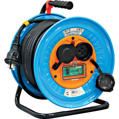 日動工業 電工ドラム 防雨防塵型三相200V アース漏電しゃ断器付 30m DNW-EB330-20A 1台 327-2559 (直送品)