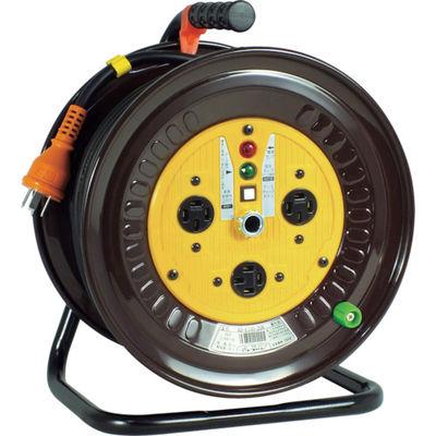 日動工業 電工ドラム 三相200Vドラム アース付 20m ND-E320-20A 1台 125-5819 (直送品)