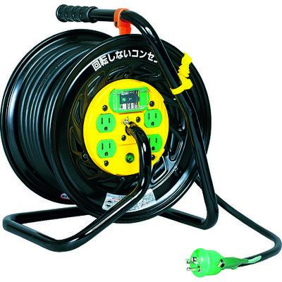 日動工業 電工ドラム マジックリール 100V アース漏電しゃ断器付 30m Z-EB34 1台 164-5129 (直送品)