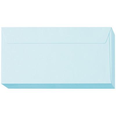 ムトウユニパック 長3横型ナチュラルブルー(100)枠なし 100P 青 1パック(300枚:100枚入×3パック)