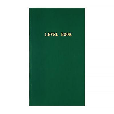 【測量野帳】レベルブック 40枚 緑 セ-Y1 1袋(10冊入) コクヨ