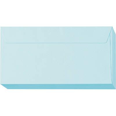 ムトウユニパック 長3横型ナチュラルブルー(100)枠なし OT 1パック(300枚:100枚入×3パック)