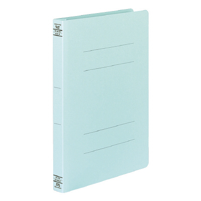 コクヨ フラットファイルW厚とじ A4タテ 100冊 ブルー フ-W10NB