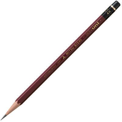 三菱鉛筆(uni) ハイユニ 4H HU4H 1箱(6ダース入:12本×6) (取寄品)