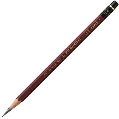 三菱鉛筆(uni) ハイユニ 10B HU10B 1箱(6ダース入:12本×6) (取寄品)