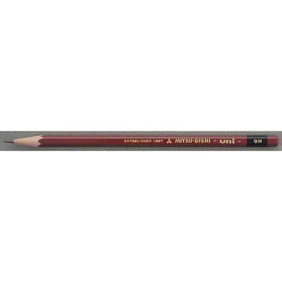 三菱鉛筆(uni) ユニ 9H U9H 1箱(6ダース入:12本×6) (取寄品)