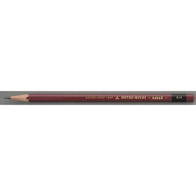 三菱鉛筆(uni) ユニ 6H U6H 1箱(6ダース入:12本×6) (取寄品)