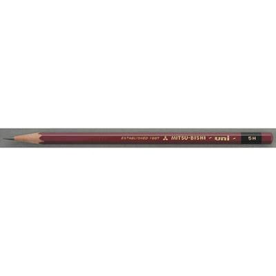 三菱鉛筆(uni) ユニ 5H U5H 1箱(6ダース入:12本×6) (取寄品)