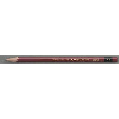 三菱鉛筆(uni) ユニ 4H U4H 1箱(6ダース入:12本×6) (取寄品)