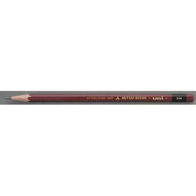 三菱鉛筆(uni) ユニ 3H U3H 1箱(6ダース入:12本×6) (取寄品)